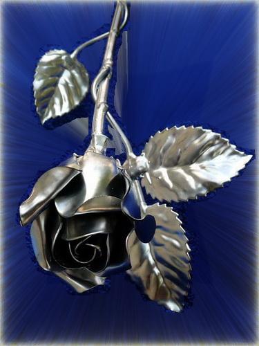 kovácsoltvas rózsa ajándékba!