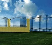 Kovácsoltvas kerítés rajz terv