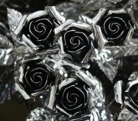 Kovácsoltvas Rózsa Valentin napra ajándék
