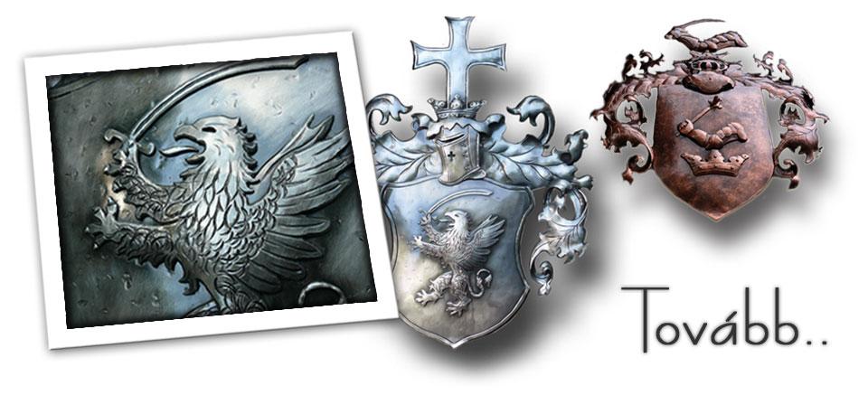 Nemesi családi címer tervezése, készítése